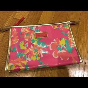 Lilly Pulitzer for Estee Lauder Large Cosmetic Bag